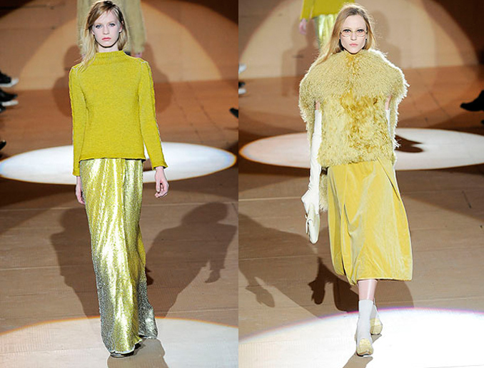 marc jacobs aw10 yellow