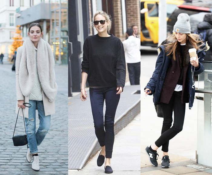 chic-outfits-new-balance-fluffy-jumper-coat-roll-neck