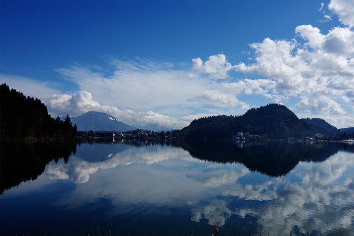 lake-bled-reflection-mountain