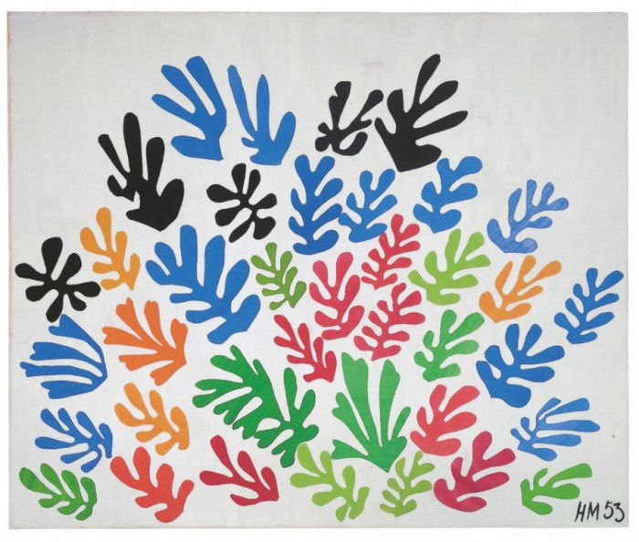 matisse the sheaf tate cutout
